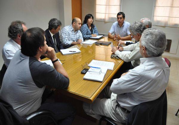 Funcionarios municipales recibieron a representantes del Consejo de Seguridad