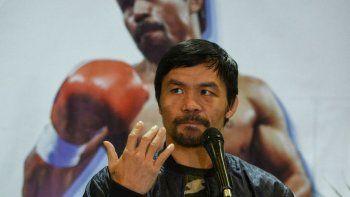Pacquiao, de la derrota en su regreso al boxeo a la postulación como presidente