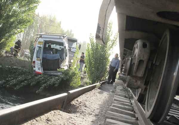 Un milagro evitó tragedia ferroviaria