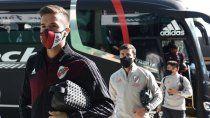 tras la suspension, el partido de river se juega en paraguay