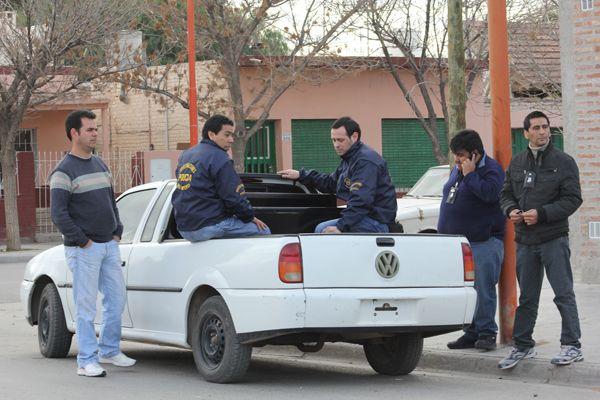 En un allanamiento la policía recuperó elementos robados