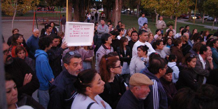 Unos 2.000 cipoleños se movilizaron exigiendo justicia