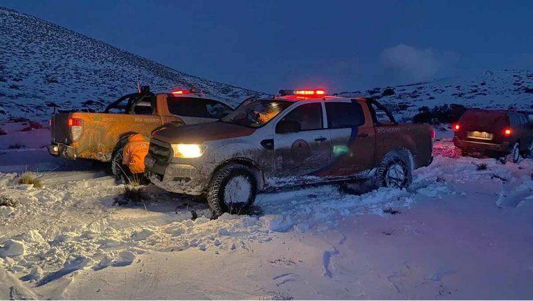 Rescataron a las cuatro personas de Bariloche perdidas en la nieve