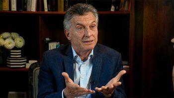 Macri: Con Alberto no hablo más, se acabó, dice cosas que yo no dije