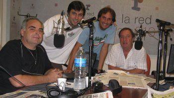 Tristeza por la muerte de Miguel DAlascio, histórico coequiper radial de Bilardo
