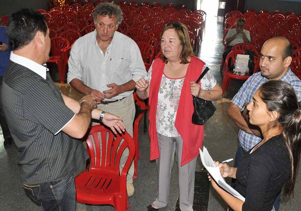 Baratti expondrá programas locales