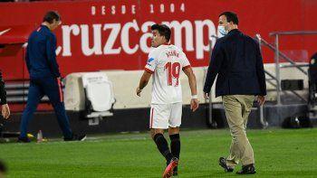 El Barsa de Messi sufrió y el Sevilla de Acuña goleó por la Copa