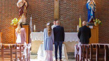 Súper íntimo: los detalles de la fiesta de casamiento de Abel Pintos y Mora Calabrese