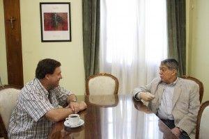 Weretilneck se reunió con Ferreira