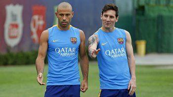 Mascherano expresó su postura sobre el futuro de Messi
