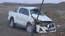 funcionarios de rio negro sufrieron un grave accidente