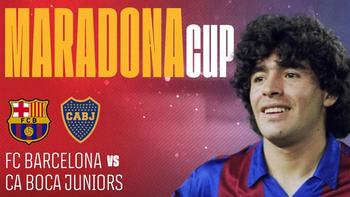 Confirman Boca-Barcelona, por la Maradona Cup: día y cómo verlo