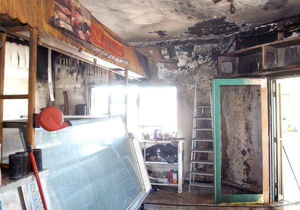 Incendio devastó una fiambrería