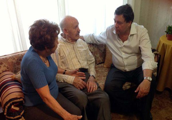 Weretilneck se reunió con el ex gobernador Mario Franco