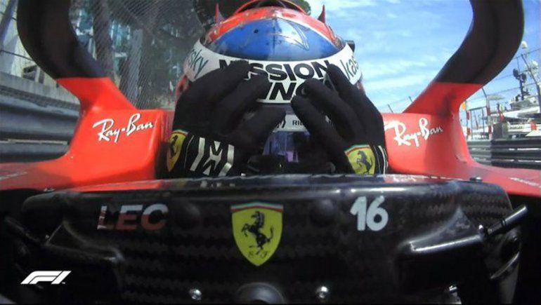 Charles Leclerc y Ferrari se quedaron con las manos vacías en el Gran Premio de Mónaco de Fórmula 1