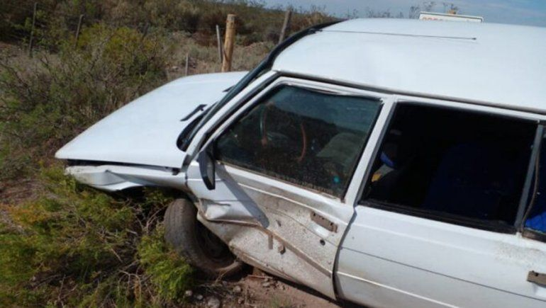 Una vaca suelta provocó un terrible accidente de tránsito