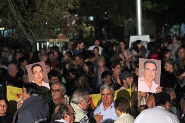 Multitudinaria marcha exigiendo seguridad y justicia