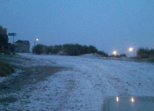 Nevó en Bariloche