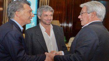 Macri recibió ayer al director del Instituto, Carlos Balseiro.