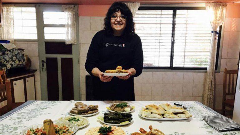 La cocina árabe tiene una excelente intérprete en Cipolletti