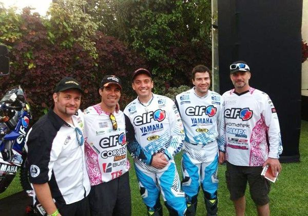 Busin finalizó la primera etapa del Dakar