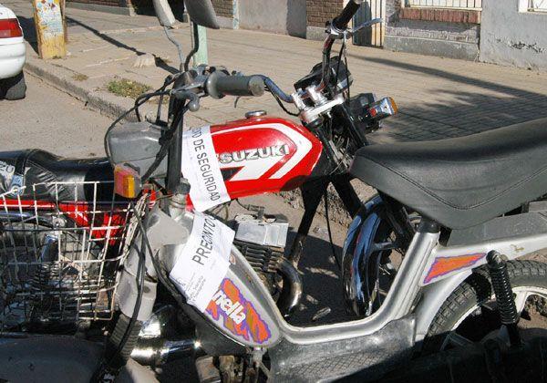 Policía de Río Negro creó base de datos de motos robadas en zona del Alto Valle
