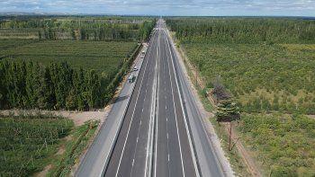 habilitaran dos puentes en la autopista de la ruta 22