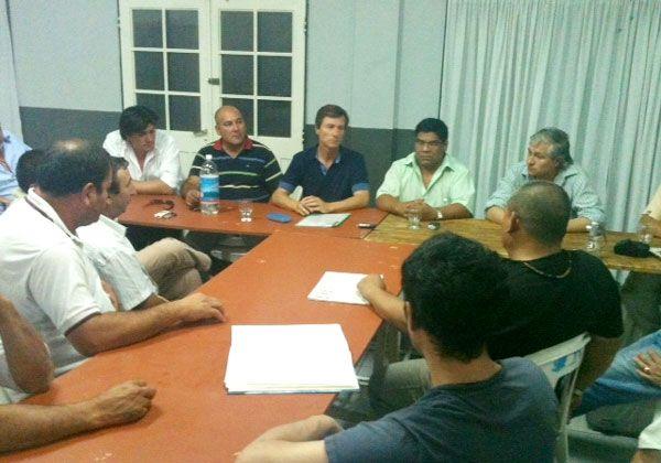 Gatti calificó de excelente la reunión de trabajo con integrantes de Solcoym