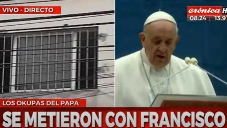 Amenazaron de muerte a un sobrino del Papa y acuchillaron al cuñado