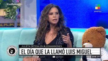 Julieta Ortega mandó al frente a Luis Miguel y el cantante la retó