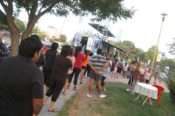 Muchos interesados en el primer día de inscripciones para La Corrida