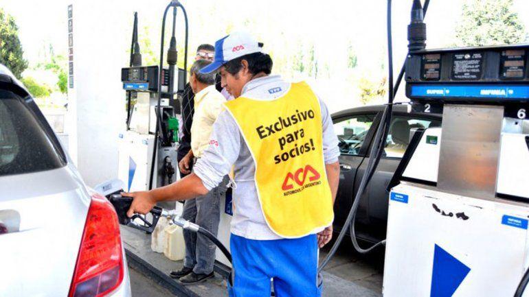 Desde el jueves suben 5% los combustibles