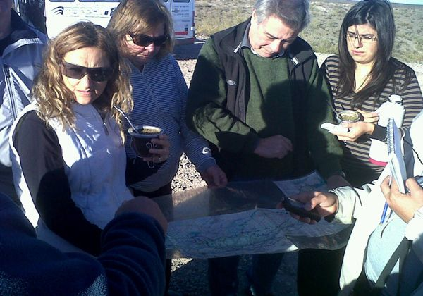"""Recorrida por la Margen Sur, proyecto """"Barrial Colorado"""""""