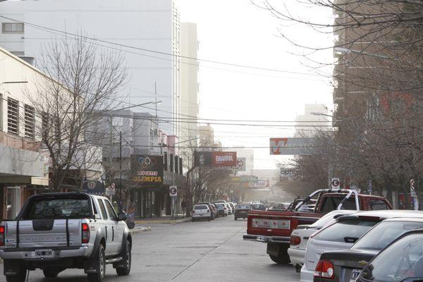 Un vendaval sacude la ciudad