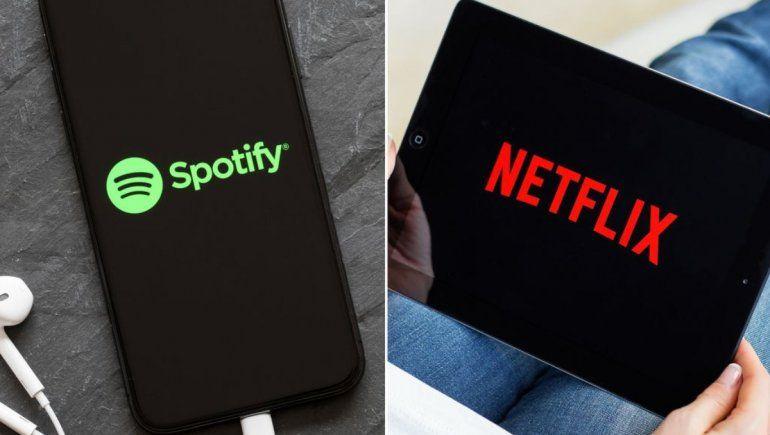 Usar Netflix y Spotify será más caro en Río Negro