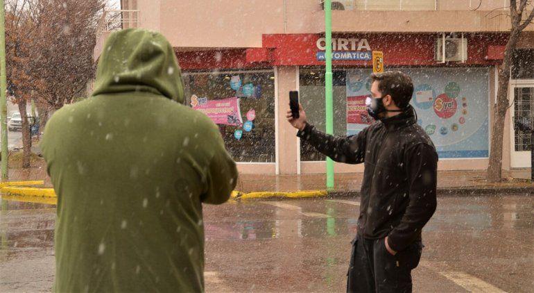 Pronóstico del tiempo: ¿Nieva en Cipolletti?