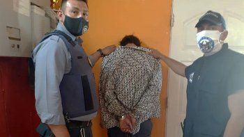 atraparon a un peligroso delincuente que estaba profugo