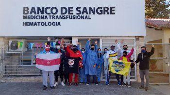 Pura sangre: la movida solidaria que juntó a los hinchas de Boca y River