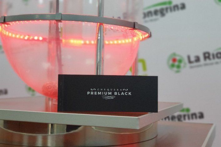 Ya está a la venta la Chequera Premium Black en Río Negro