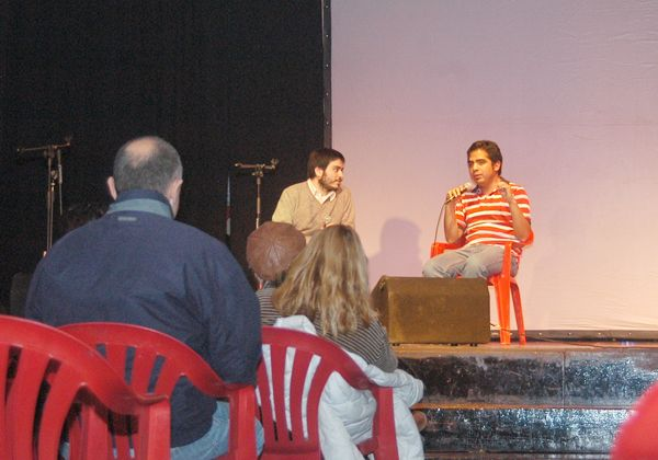 Jorge Núñez presentó su segundo libro