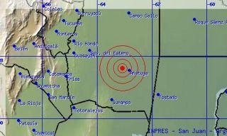 Susto: un temblor de 6 grados sacudió a Santiago del Estero
