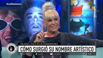 Valeria Lynch reveló el origen de su nombre artístico