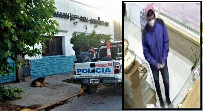 Violento asalto en una panadería de Fernández Oro