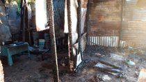 horror en santa fe: le entraron a robar, lo prendieron fuego y murio