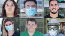 Los rostros de la pandemia