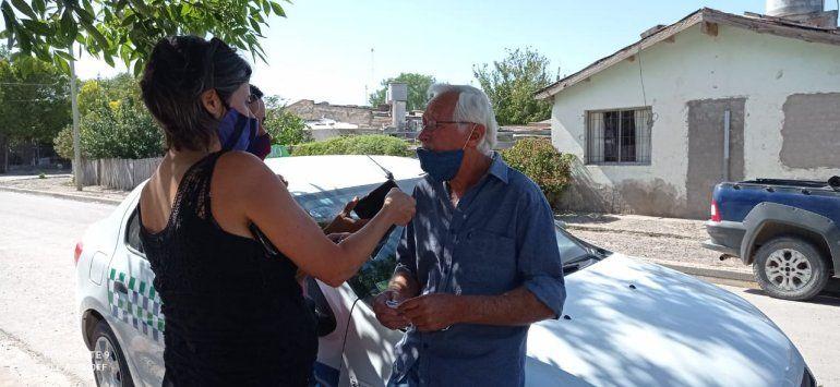 El taxista brindó declaraciones tras el asalto de tres adolescentes mujeres