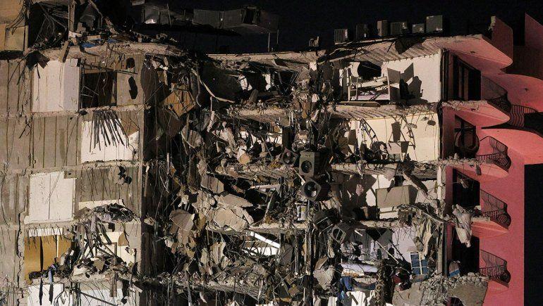 Un muerto y varios heridos tras el derrumbe de un edificio en Miami