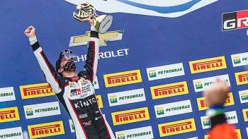 Matías Rossi publicó en las redes sus sensaciones luego de llegar segundo y lograr su primer podio en el Stock Car.