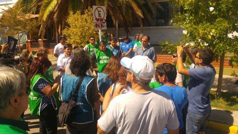 La CTA protestó en Allen contra el accionar policial violento