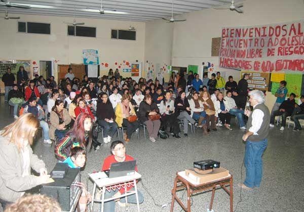 Gran participación en los talleres de educación y salud